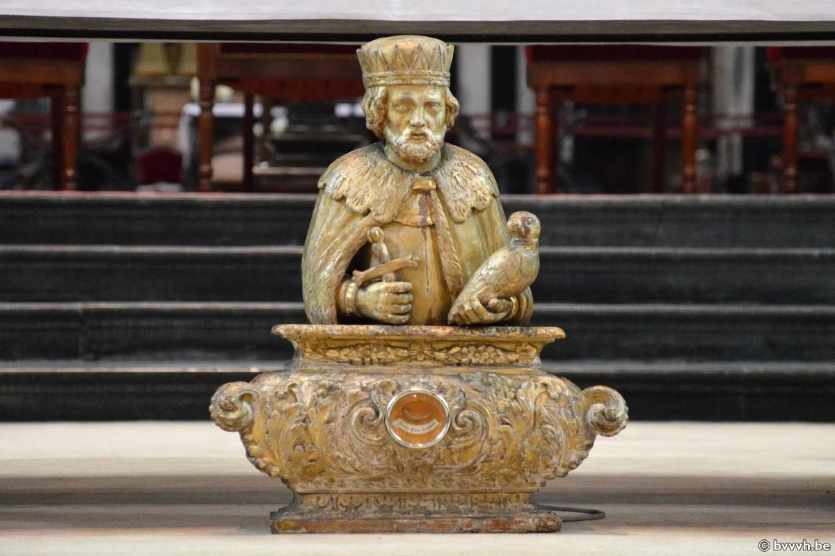 Sint-Bavo beeldje